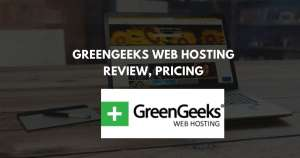 GreenGeeks Web Hosting Review, Pricing